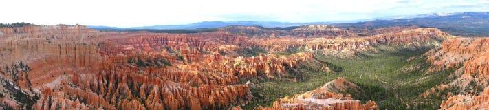 панорама каньона bryce Стоковые Изображения RF