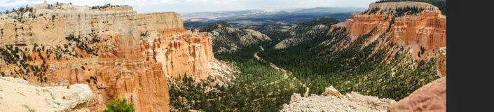 Панорама каньона Bryce Стоковая Фотография RF