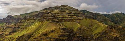 Панорама каньона Imnaha Стоковое Фото