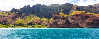 Панорама Кауаи стоковое фото