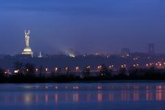 Панорама Киева Стоковая Фотография