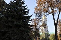Панорама Киева Pechersk Lavra, Стоковая Фотография RF