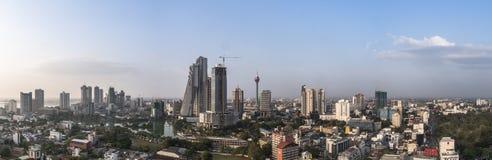 Горизонт Коломбо стоковое изображение rf