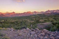 Панорама Колорадо границы Далласа, США стоковые изображения rf