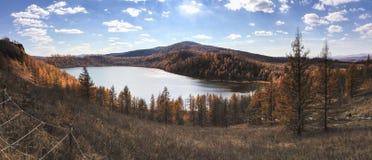Панорама конематки Риджа ‹â€ ‹â€ горба на Arshaan Стоковая Фотография