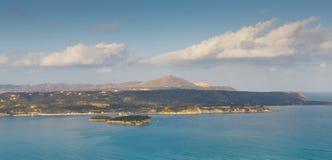 панорама Крита стоковое изображение
