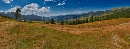 Панорама ландшафта страны Georgia Стоковое фото RF