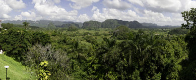 панорама ландшафта Стоковое Фото