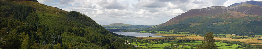 панорама ландшафта стоковая фотография