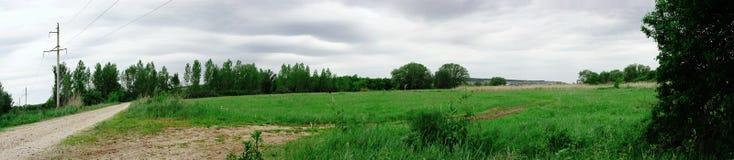 панорама ландшафта Стоковые Изображения RF