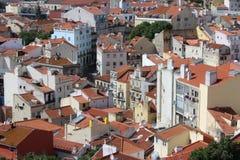 Панорама Лиссабона, столица, Португалия стоковые изображения