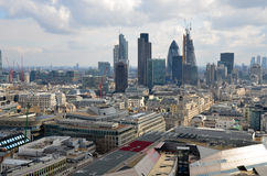Панорама Лондона Стоковые Изображения RF