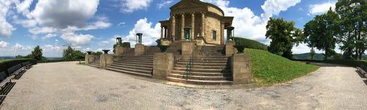 Панорама мавзолея rttemberg ¼ WÃ, Штутгарт Стоковое Фото