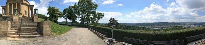 Панорама мавзолея rttemberg ¼ WÃ, Штутгарт Стоковые Фото