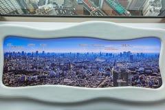 Панорама метрополии токио Стоковые Фотографии RF