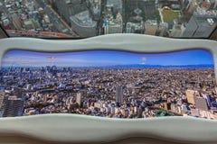 Панорама метрополии токио Стоковые Фото