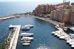 панорама Монако Стоковая Фотография