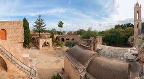 Панорама монастыря Ayia Napa Стоковая Фотография RF