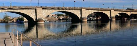 Панорама моста Лондона Стоковое Изображение RF