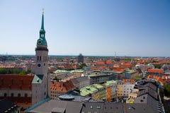 Панорама Мюнхена Стоковое Изображение