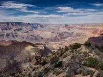 Панорама национального парка гранд-каньона Стоковое Изображение RF