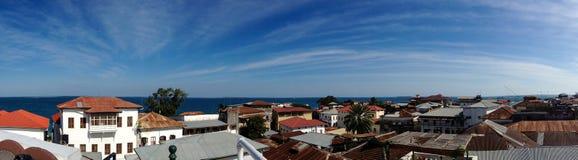 Панорама над крышами Стоковое Фото