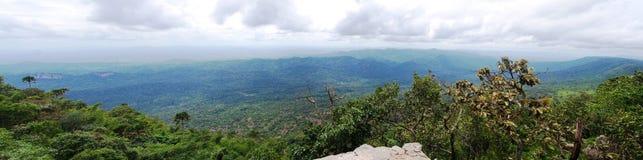 Панорама на национальном парке PA HIN NGAM Стоковые Изображения RF