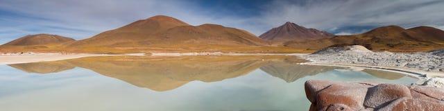Панорама на Pierdras Rojas Стоковое фото RF