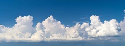 Панорама неба стоковое изображение