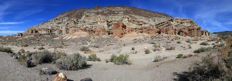 Панорама неплодородных почв Калифорнии Стоковое фото RF