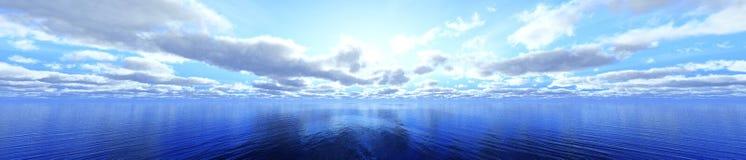 Панорама облаков стоковое изображение