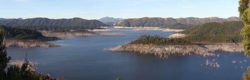 Панорама озера Гордона Стоковое фото RF