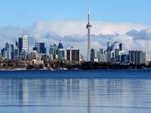 Панорама 2018 озера Торонто Стоковая Фотография