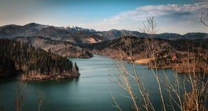 Панорама озера Стоковая Фотография RF