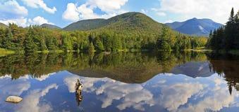 панорама озера adirondacks Стоковые Изображения RF