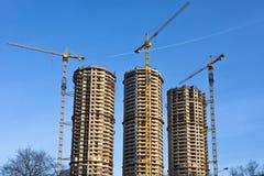 Панорама домостроения Стоковое Изображение RF