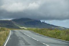 Панорама острова Skye Стоковое Изображение RF