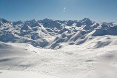 Панорама от вершины Ла Masse Стоковые Изображения RF