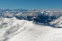 Панорама от вершины Ла Masse Стоковая Фотография RF
