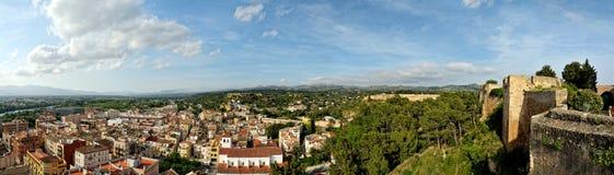 Панорама от замока Tortosa Стоковое Изображение RF