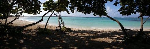 Панорама от пляжа младенца Стоковое фото RF