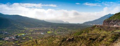 Панорама от Тенерифе Стоковое Изображение RF
