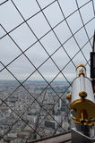Панорама от Эйфелевой башни Стоковые Фото