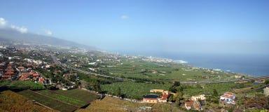 Панорама от El Teid Стоковое Изображение