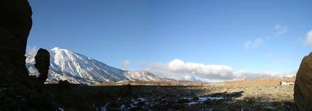 Панорама от El Teid Стоковое Фото