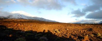 Панорама от El Teid Стоковое Изображение RF