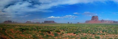 Панорама долины памятника Стоковые Изображения RF