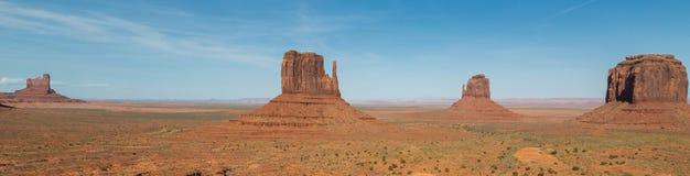 Панорама долины памятника стоковые фотографии rf
