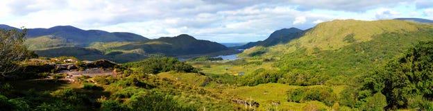 Панорама долины Killarney Стоковая Фотография