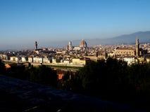 Панорама памятника Флоренции стоковое фото